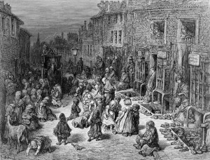 In 1848 an estimated 30,000 homeless children were struggling to survive in London