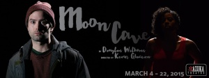 Taysha Canales and Kevin Meehan star in Moon Cave. Photo copyright: Azuka Theatre