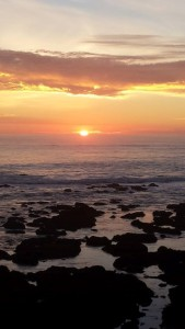 One of Marc's favorites: sunset on the Northern California coast. Photo credit: Meri Jenkins